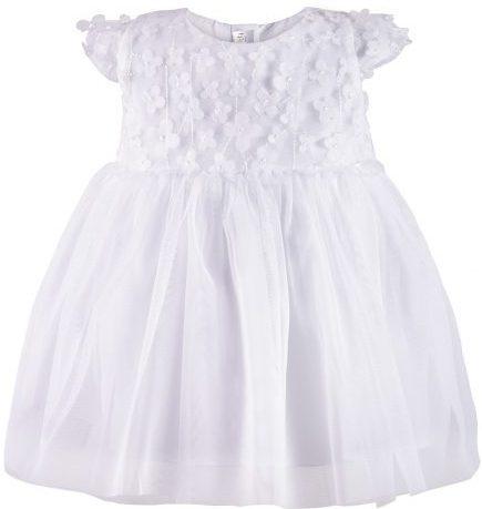 82ad07bbf Šaty biele s tylovou sukničkou Minetti, veľ. 80