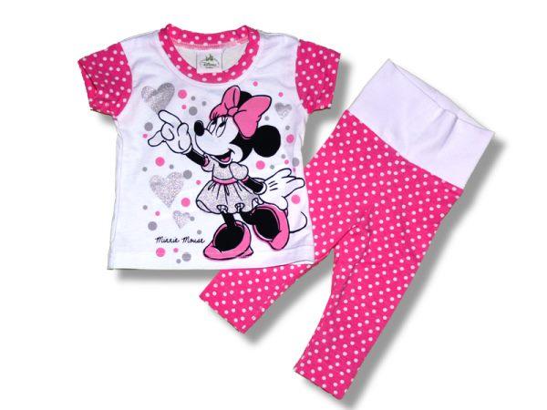 Komplet tričko kr. rukáv + legínky Disney - Minnie 933fb4f8efc