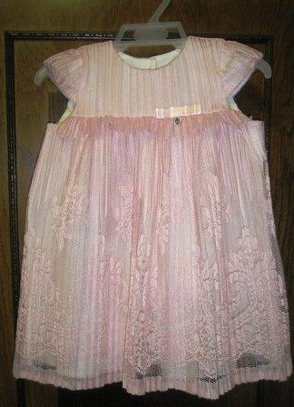 08b2fd415795 Šaty bavlnené s kr. rukávom ružové Minetti - Rusalka