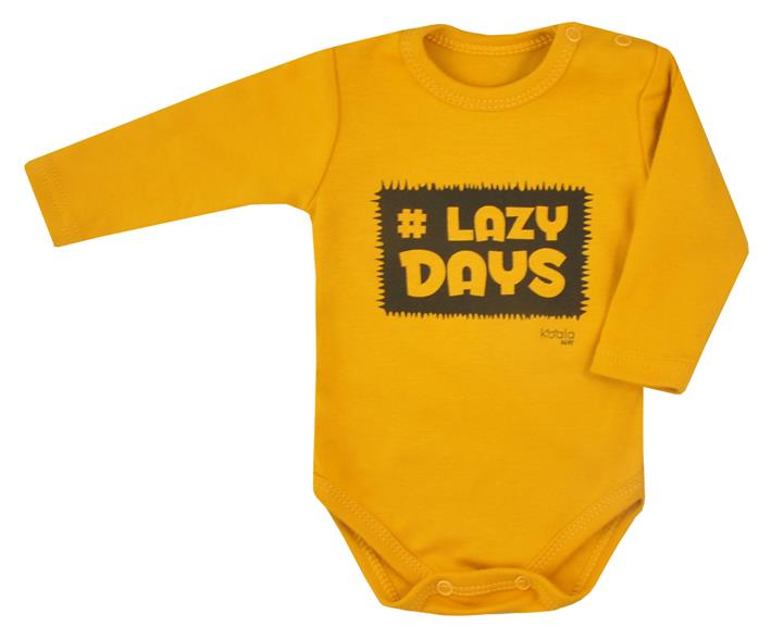 a29fca326f Body bavlnené horčicové Koala - Lazy Days
