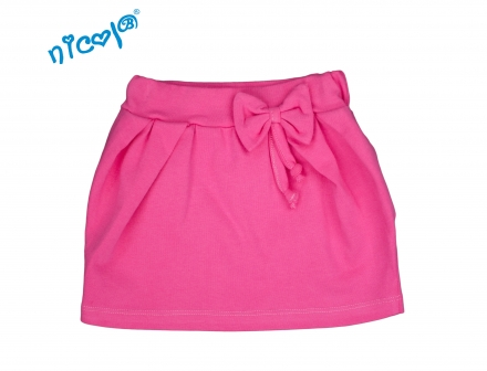 a630997e36b7 Dojčenská sukňa s mašľou ružová - kolekcia LADY