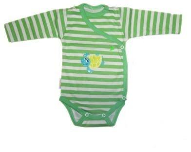 Body bavlna prekladacie zelené - Korytnačka b99ff062687
